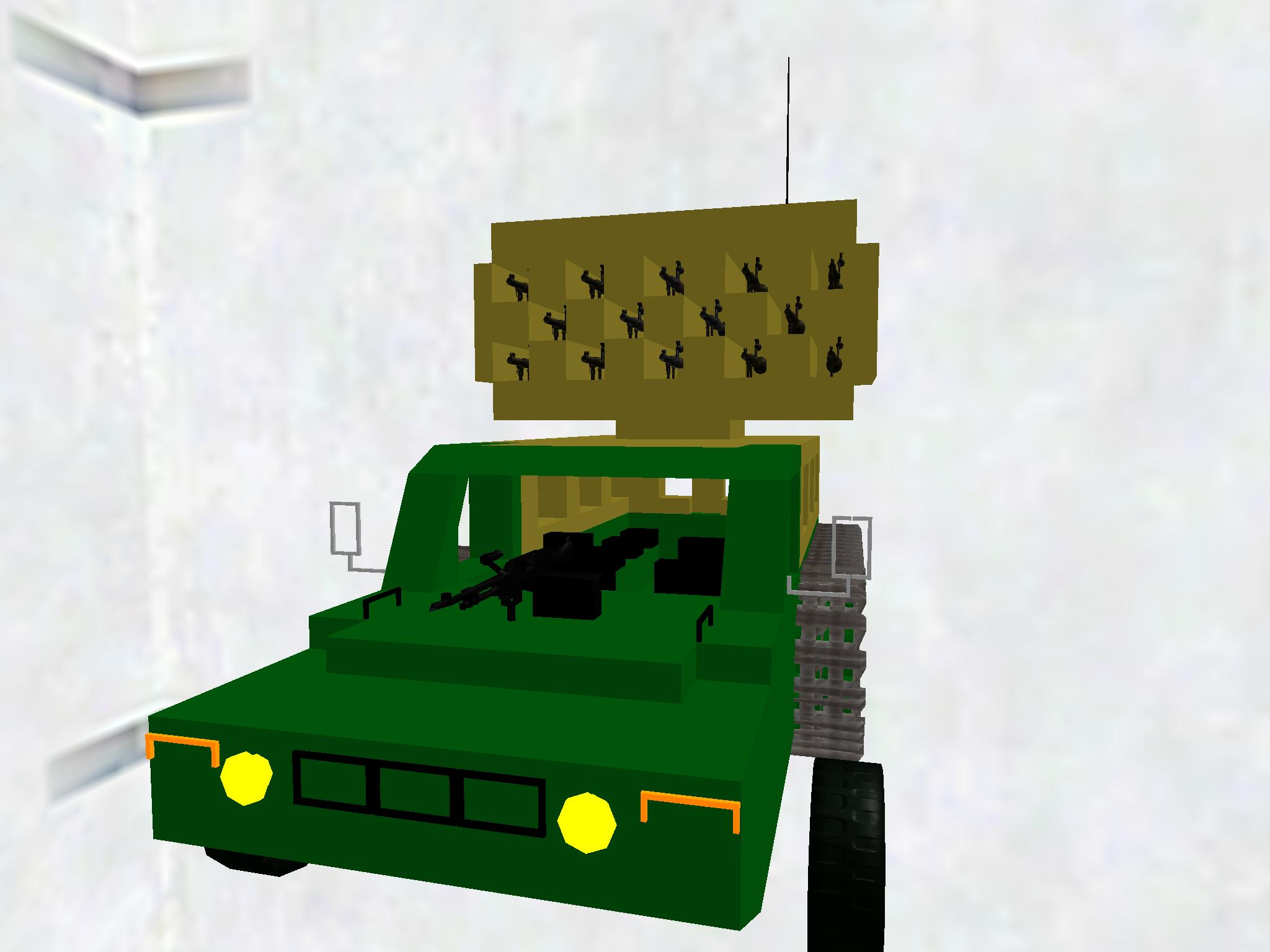 Rocket Artillery Truck