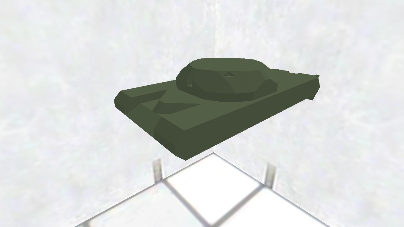 お椀砲塔搭載型 試作車 車体