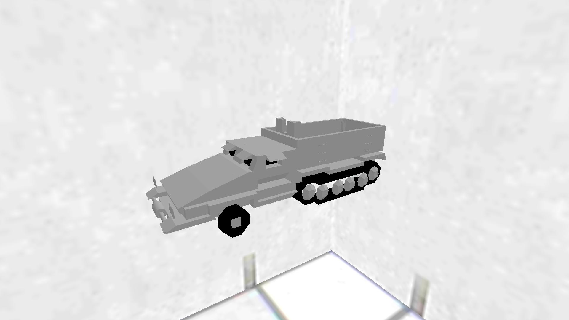Sd Kfz251 MG