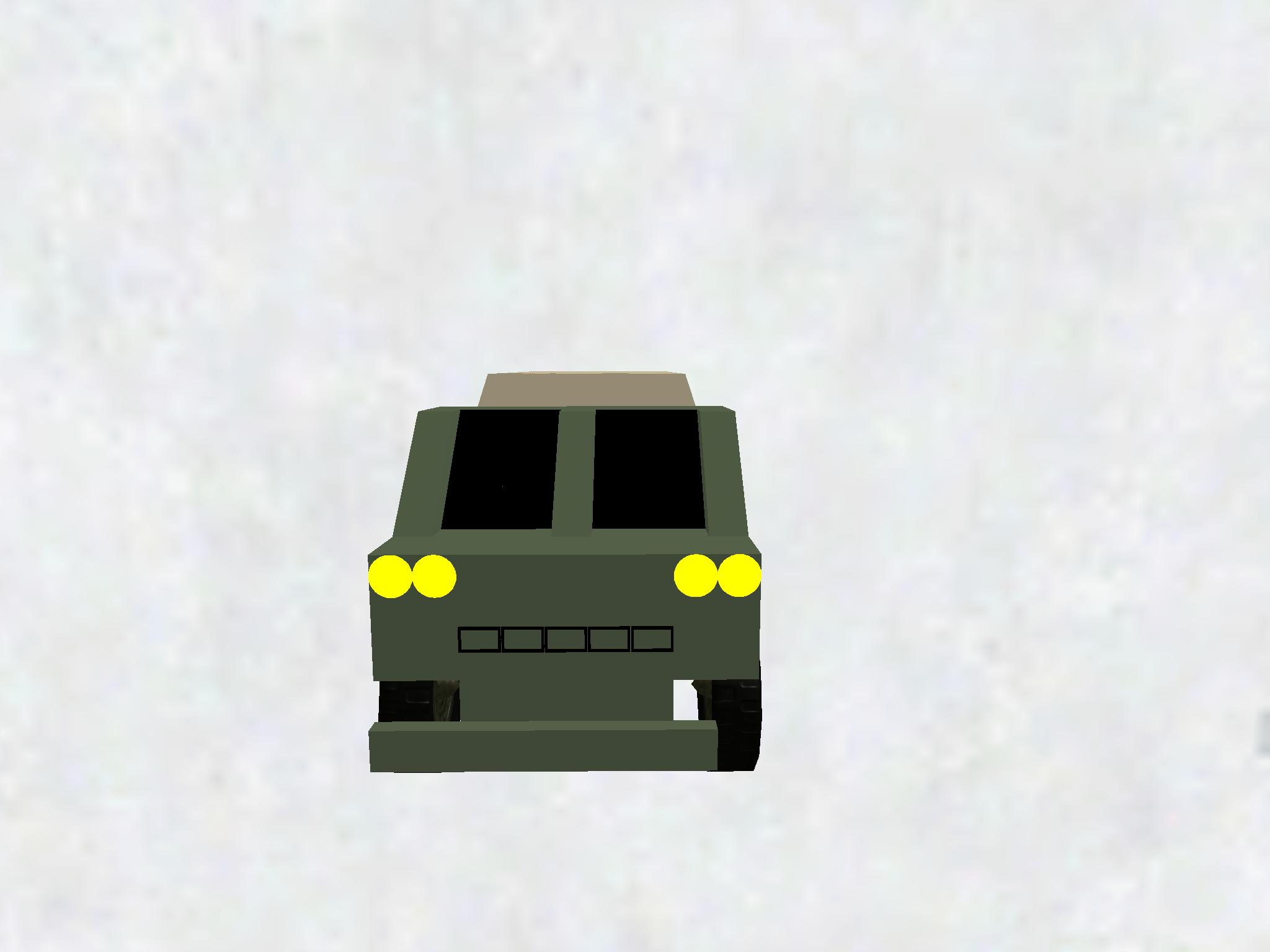 Armored garbage truck 3
