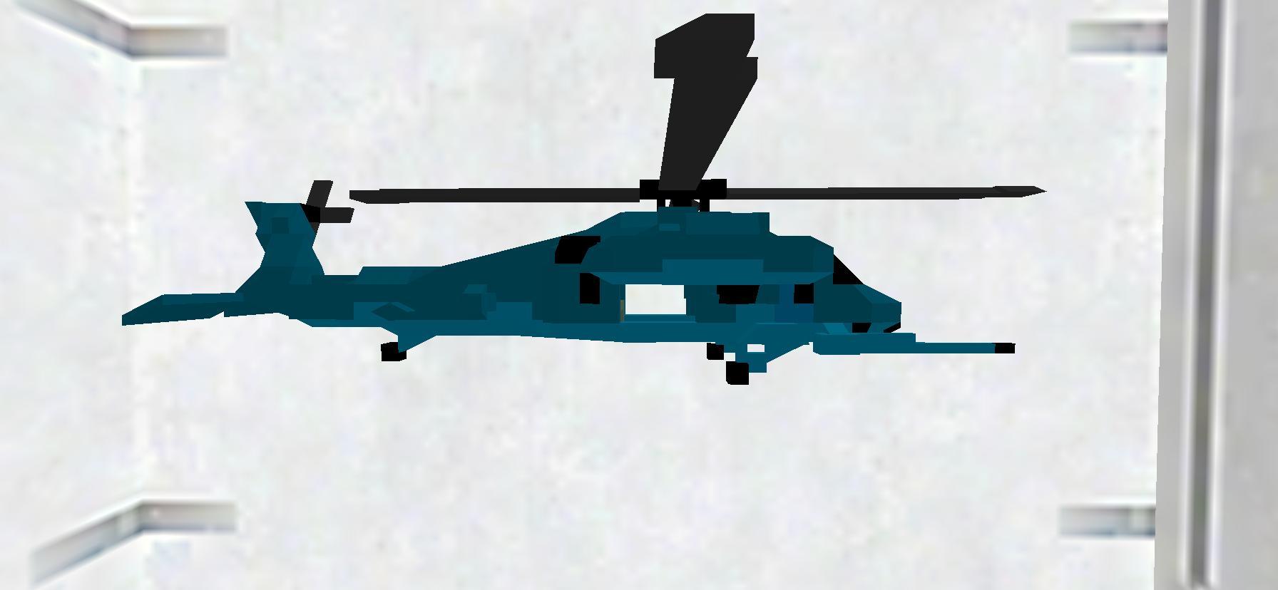 X UH-1J JP  ドアオープンバージョン