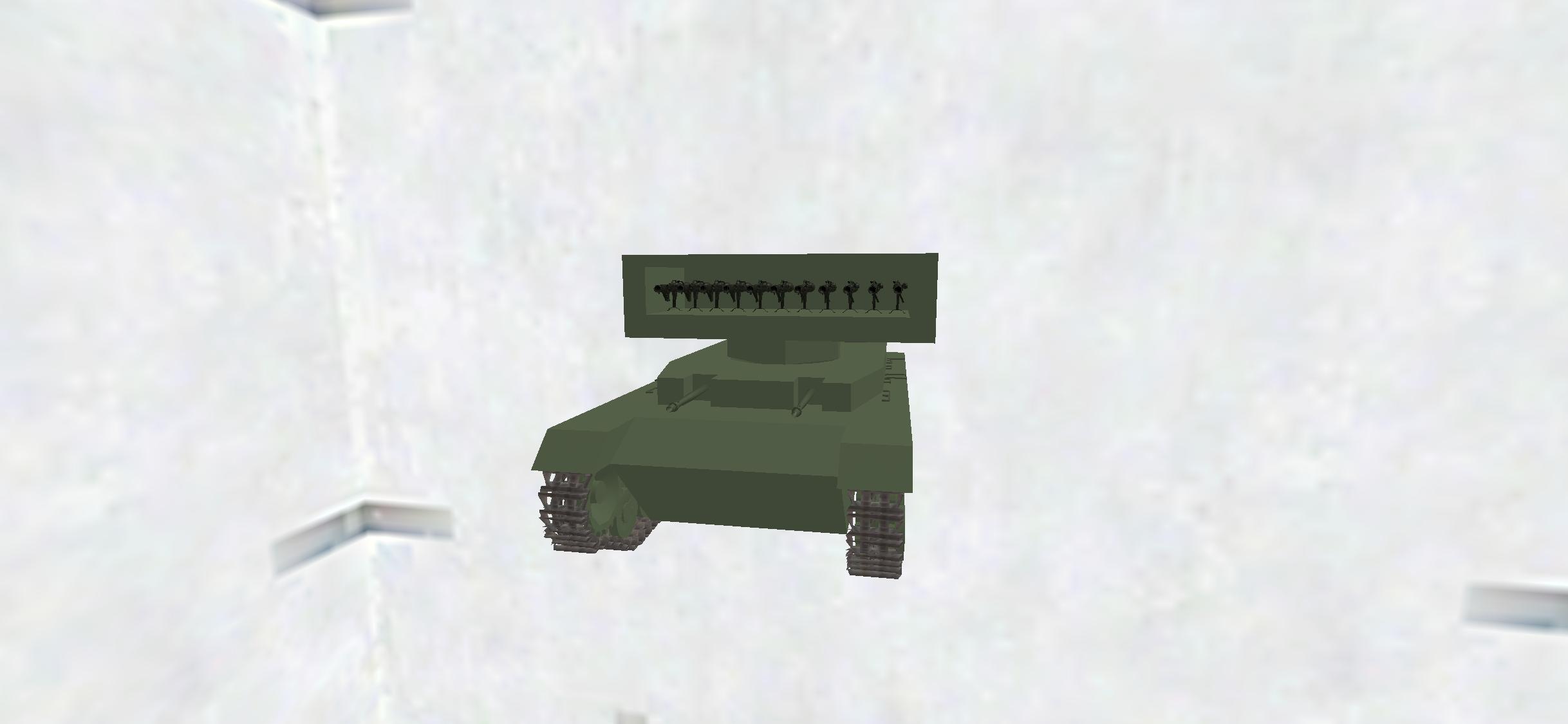 Pz.Kpfw.IV(rocket turret)