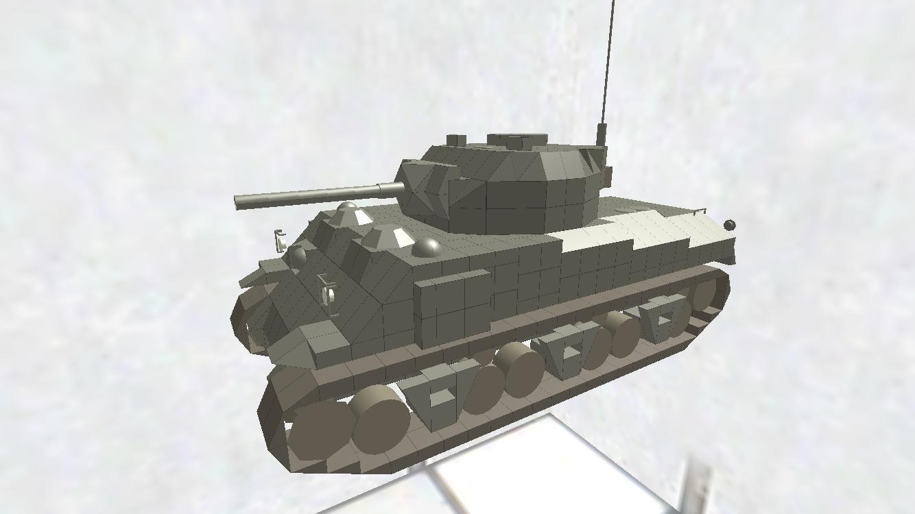 M4A2 Sherman ディティールちょいアップ版