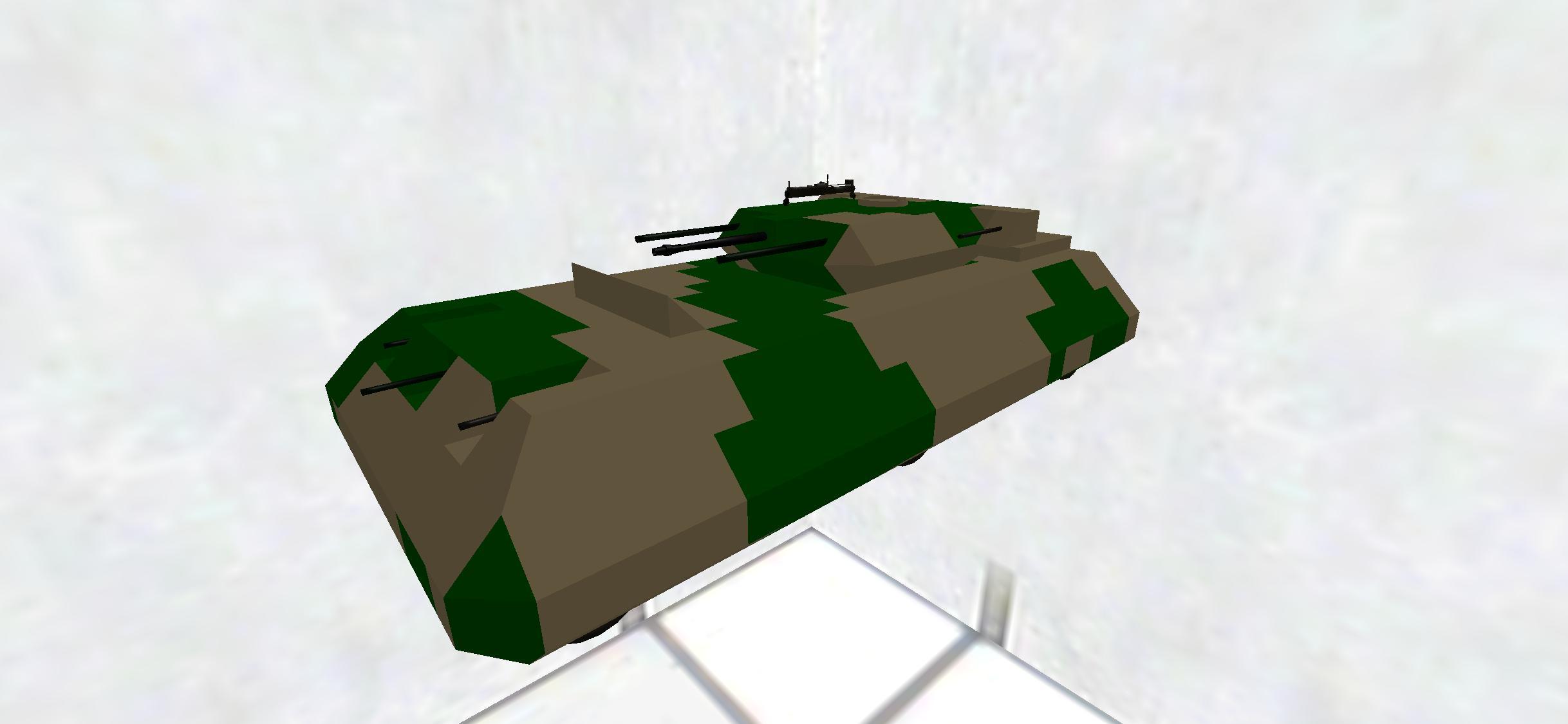 九〇七式戦闘車(湿地帯迷彩)