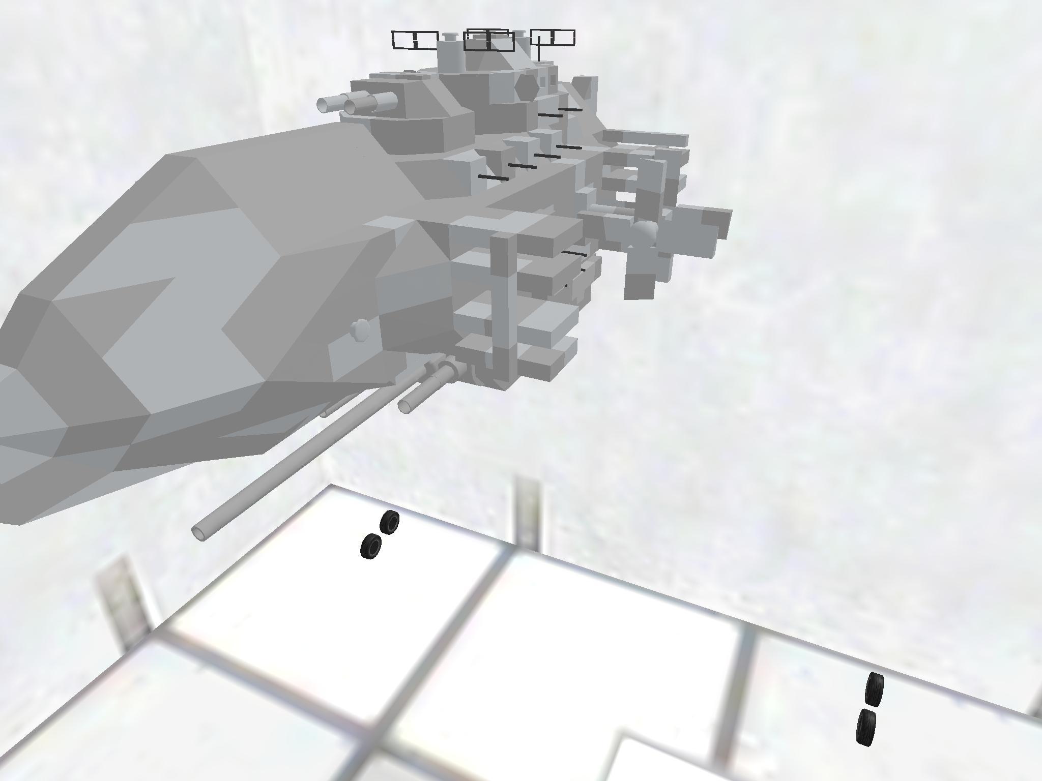 飛行戦艦完全武装ver