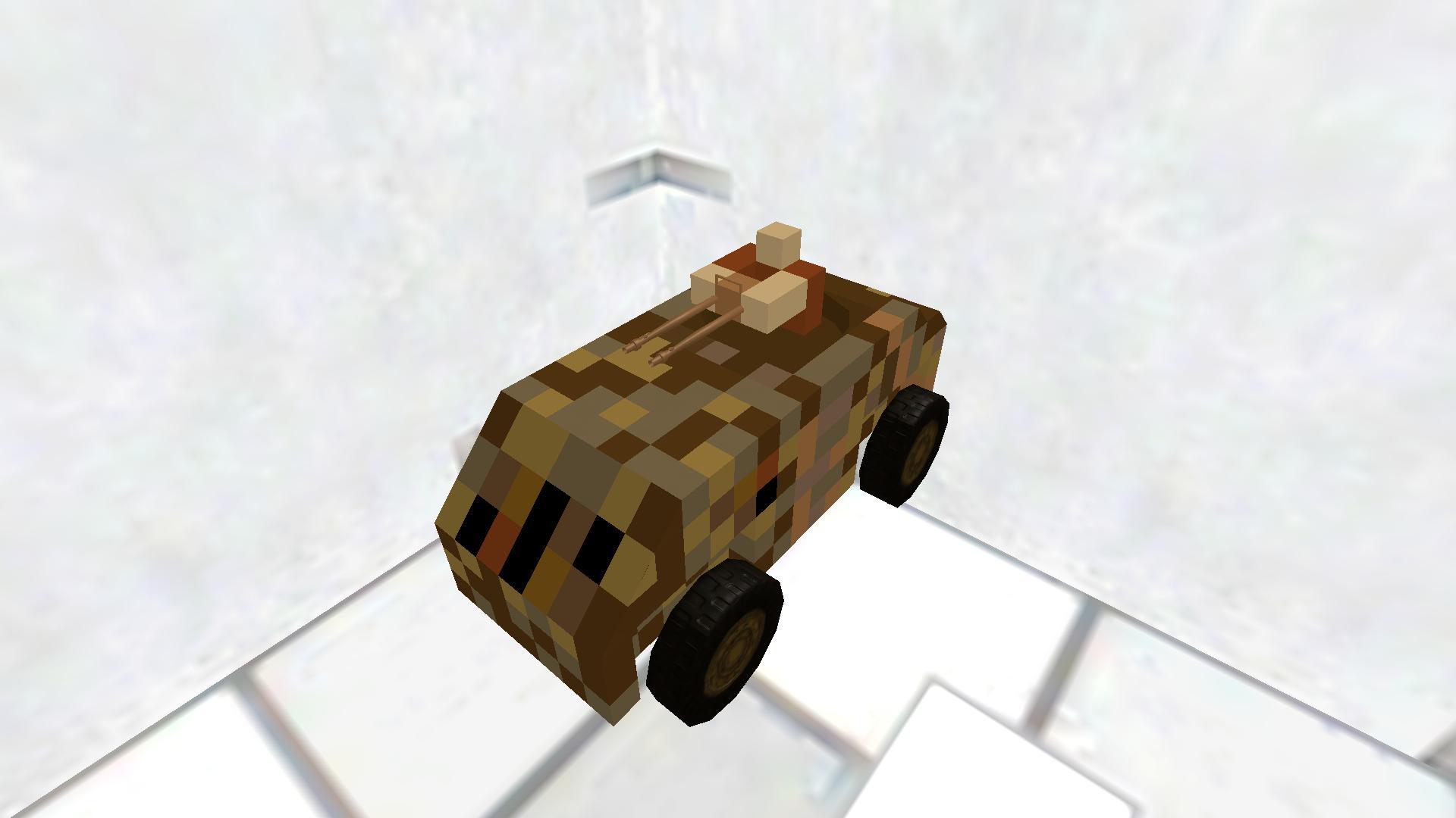 Rust Humvee