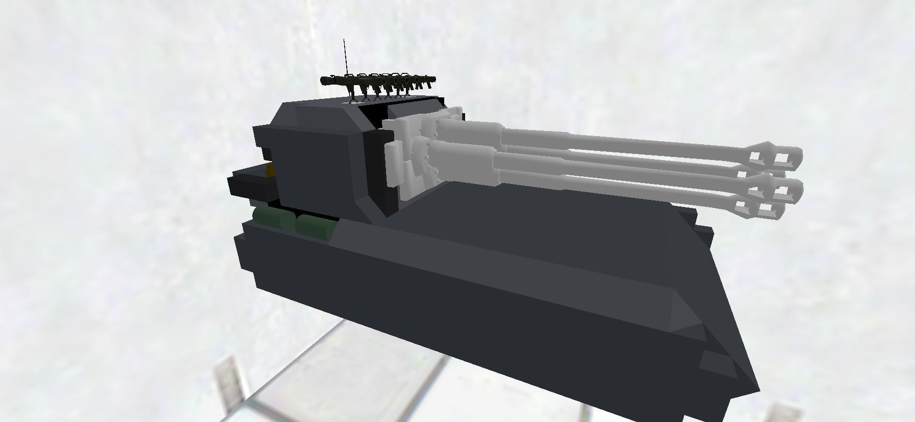 化け物戦車。
