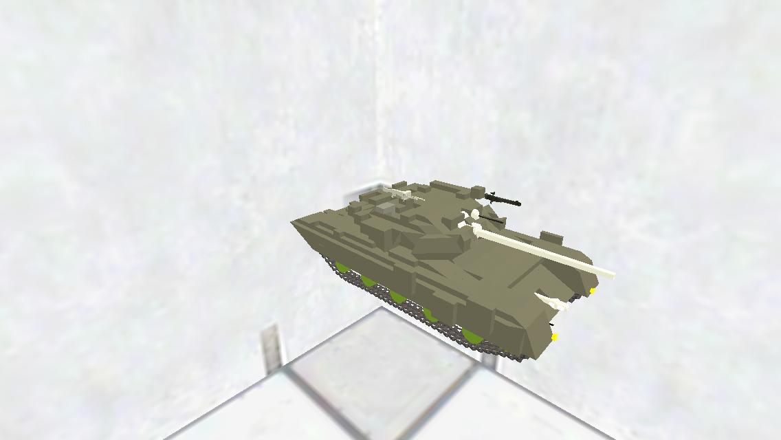 T-90A履帯、大砲付き