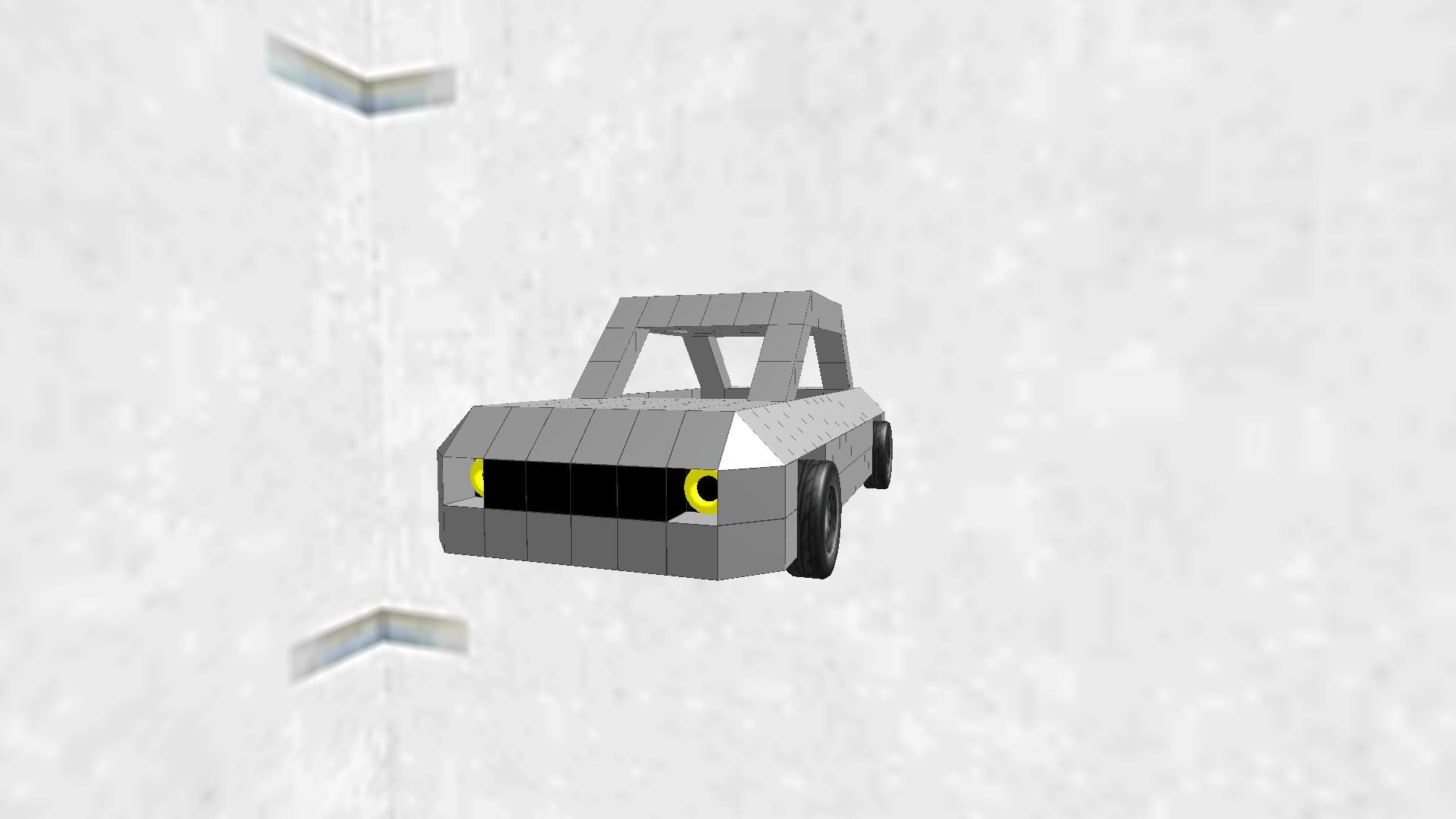 なんかの車