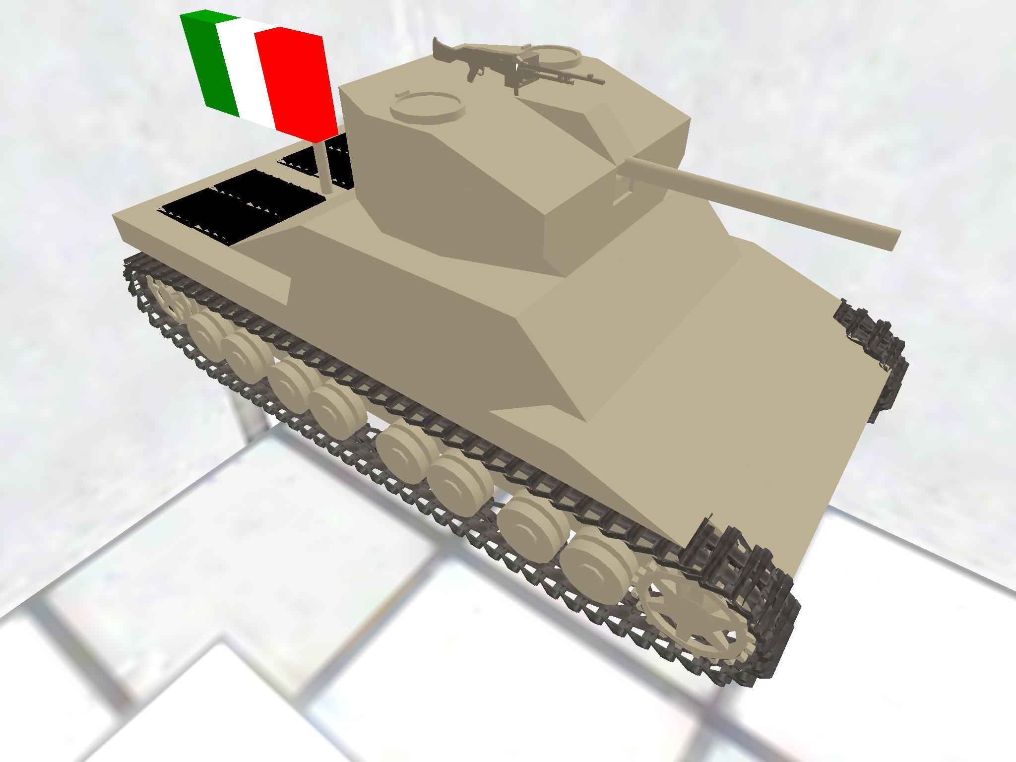 Tier 4 italain heavy tank