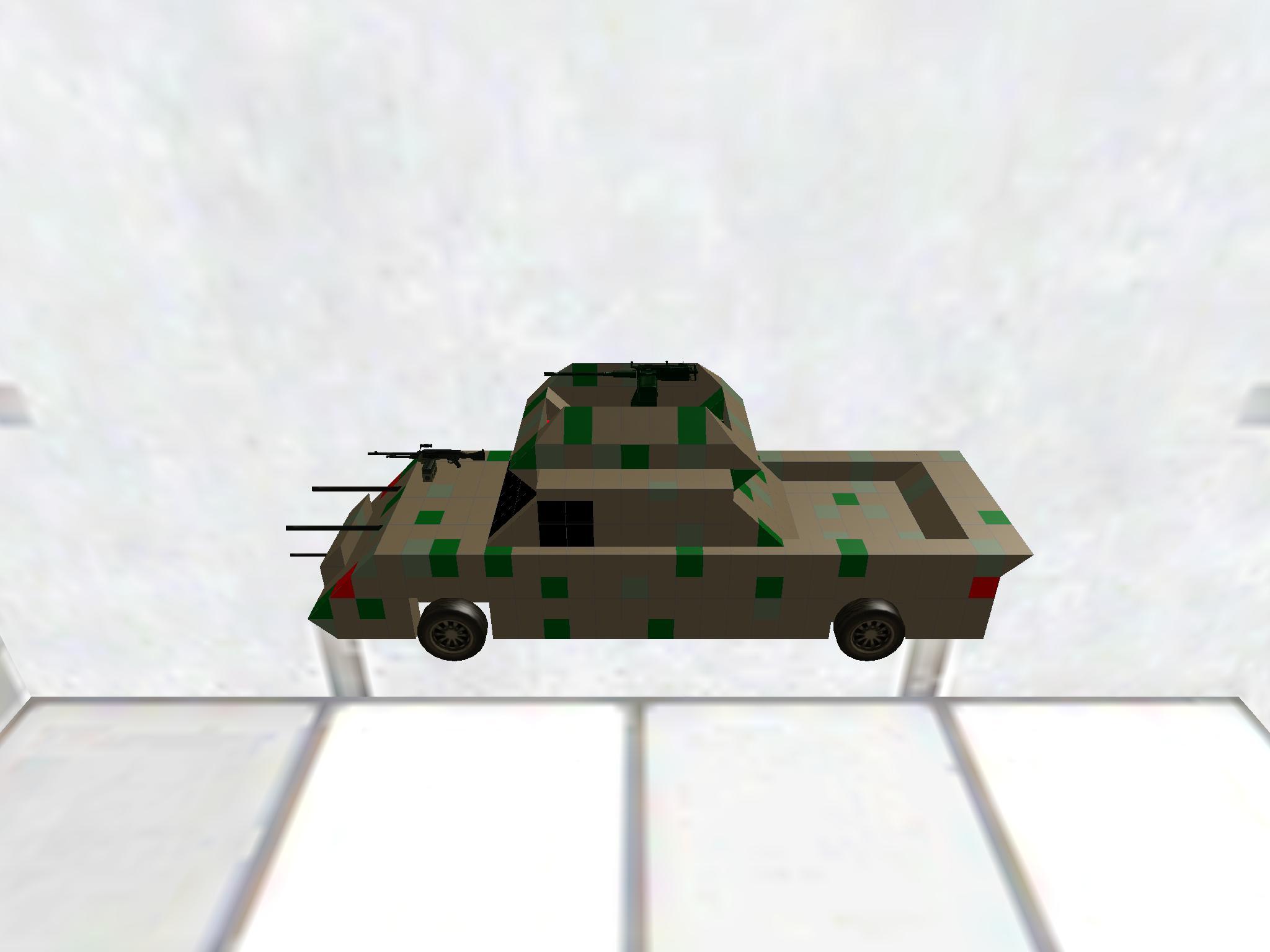 Amred car