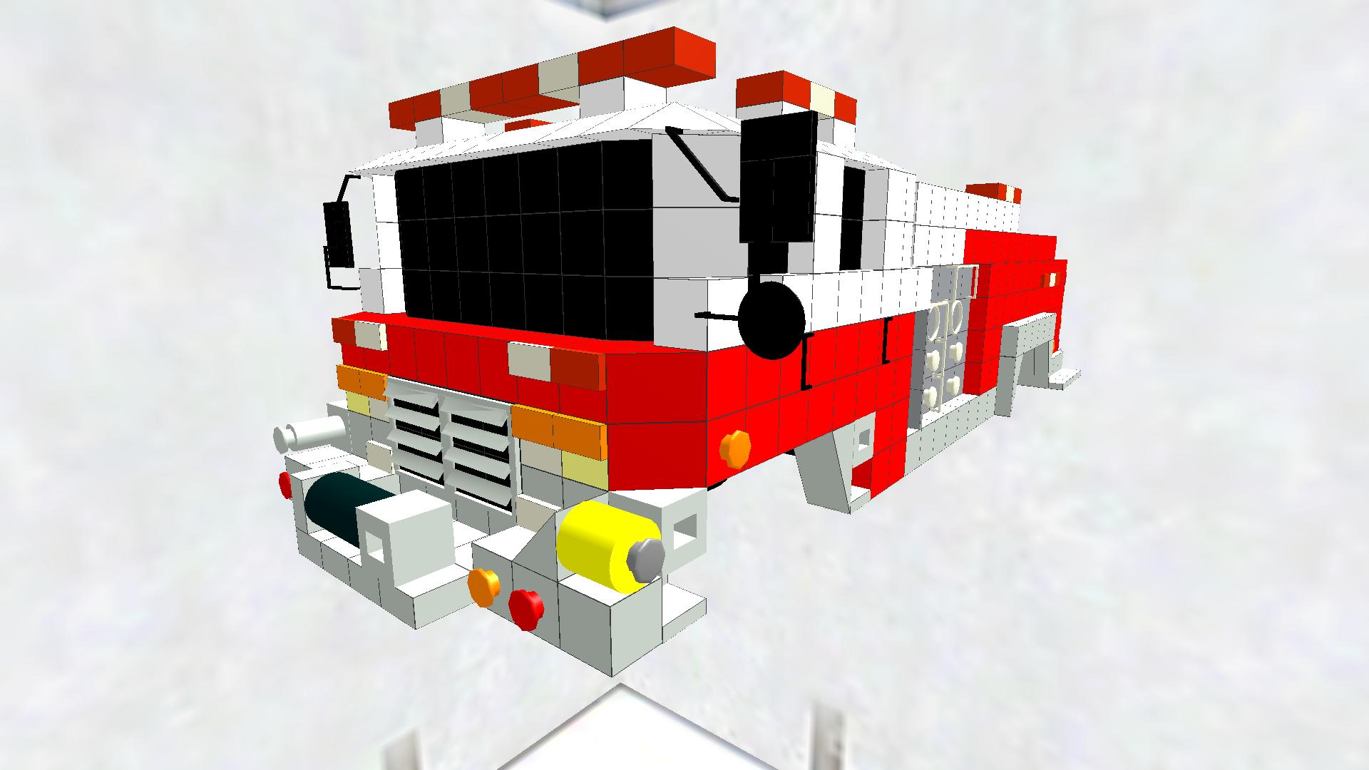 U.S fire engine