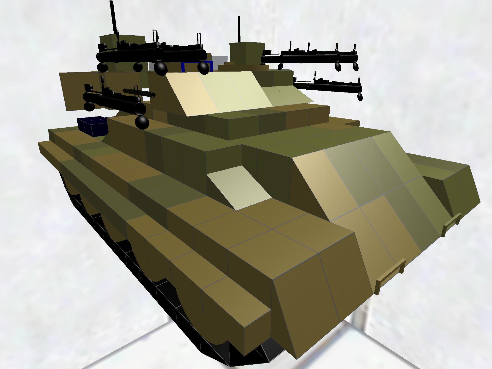 Type52対戦車自走無反動砲後期生産型