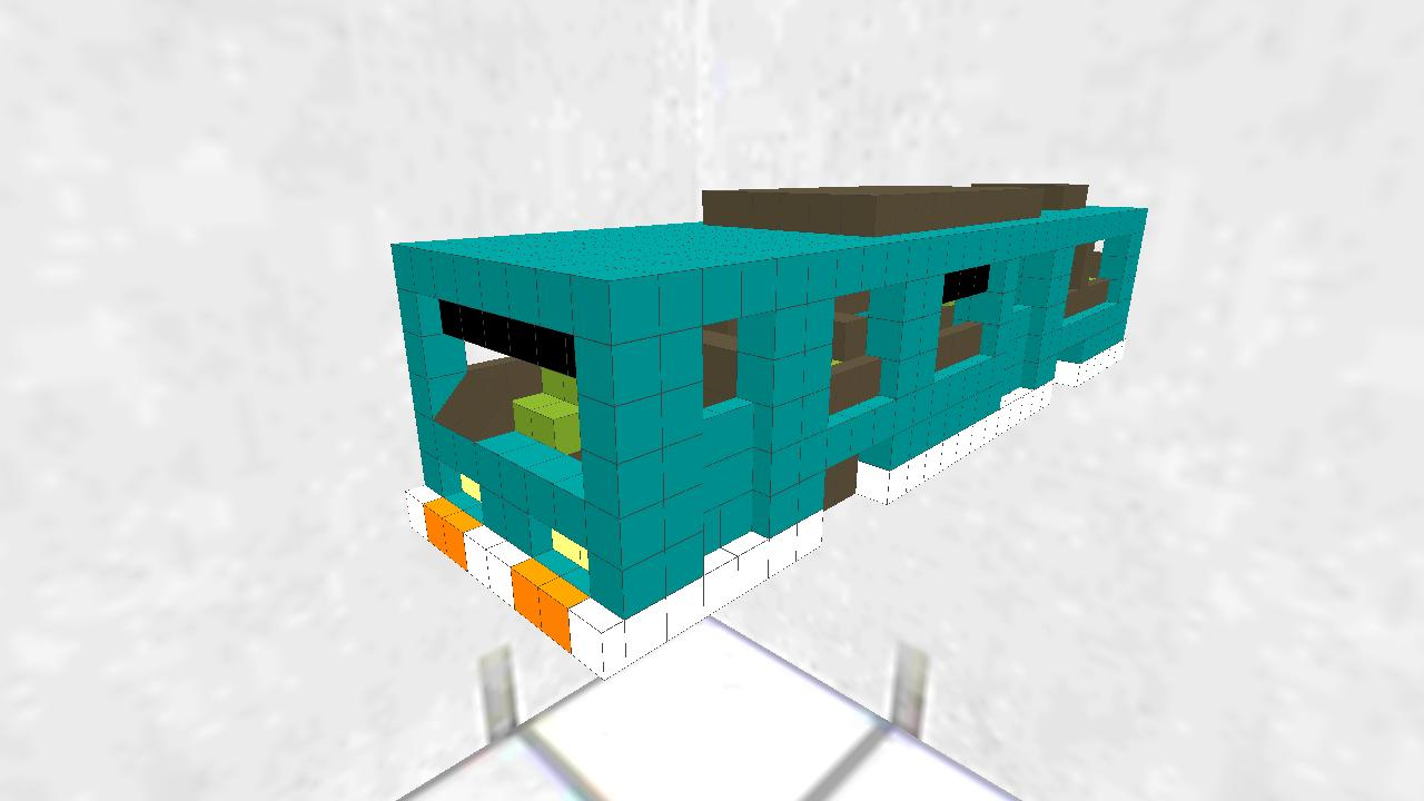 路線バス型車両(アプデ記念再投稿)