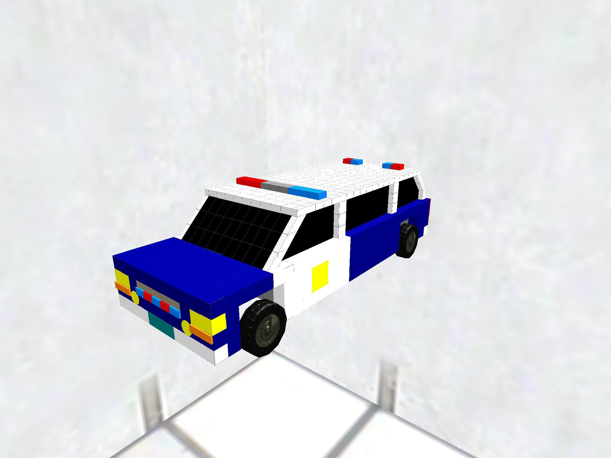 off road suv police cruiser