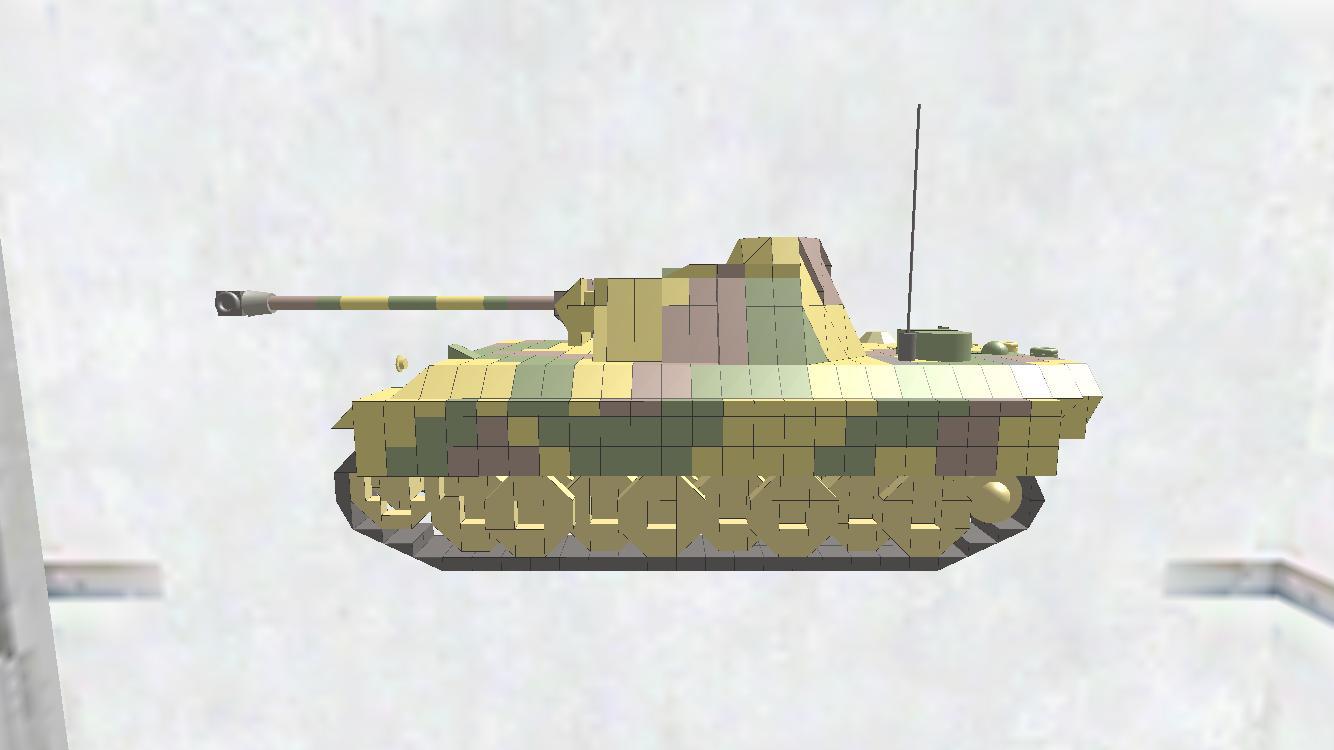 Panther Ausf.G ディティールちょいアップ版