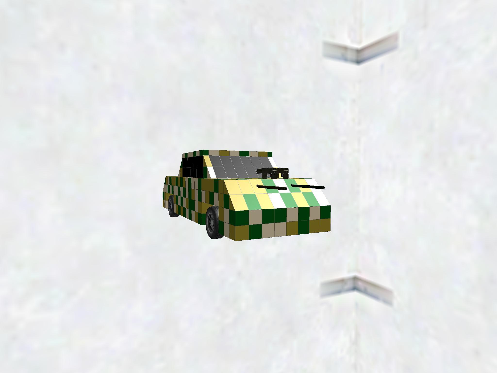 戦闘型迷彩準々戦車 ko-5157