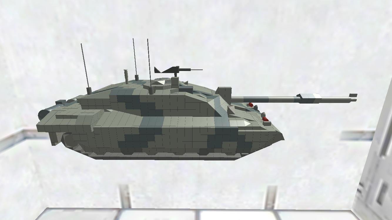 Challenger Ⅱ ディティールちょいアップ版