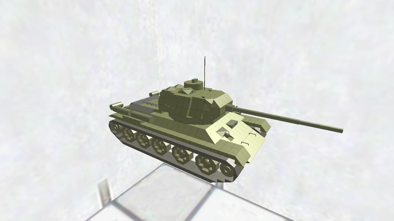 T-34-85 ディティールちょいアップ版