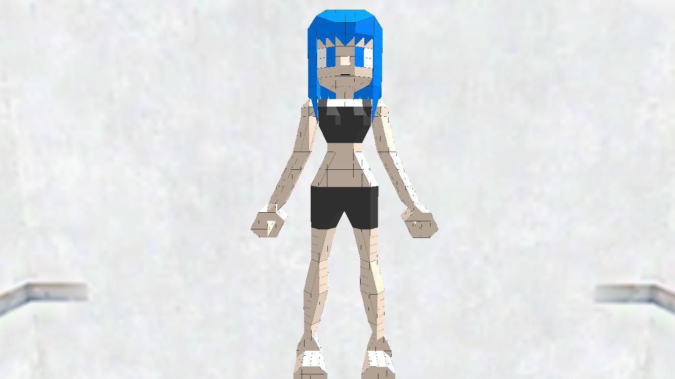 人(女)[3D RENDER FOR BNG]