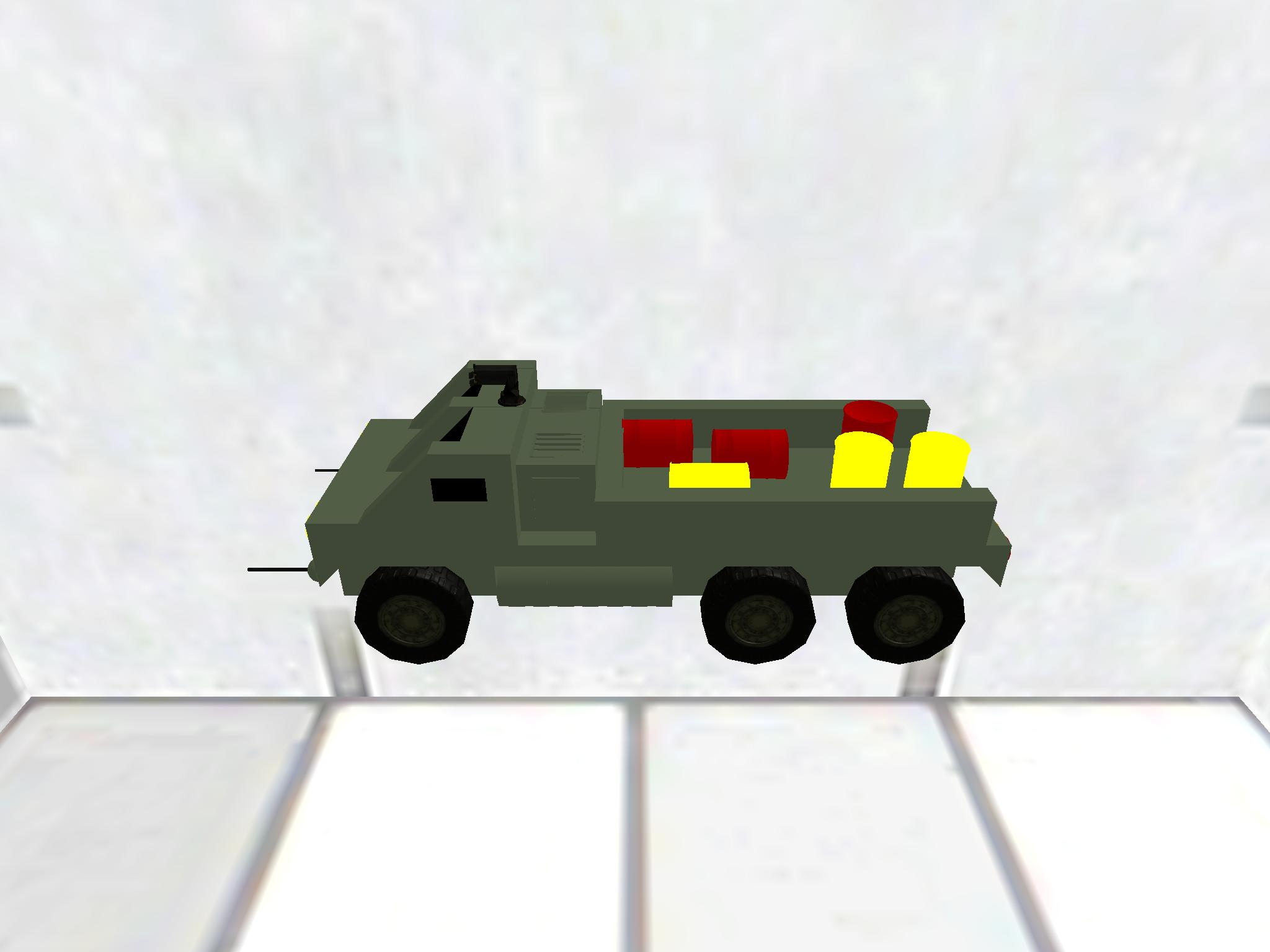 Armored garbage truck 4
