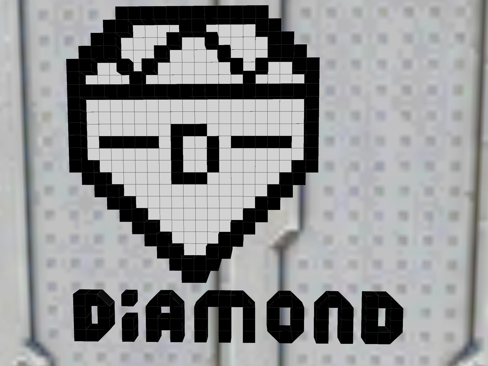 Diamond Moters Logo Battle Car Craft
