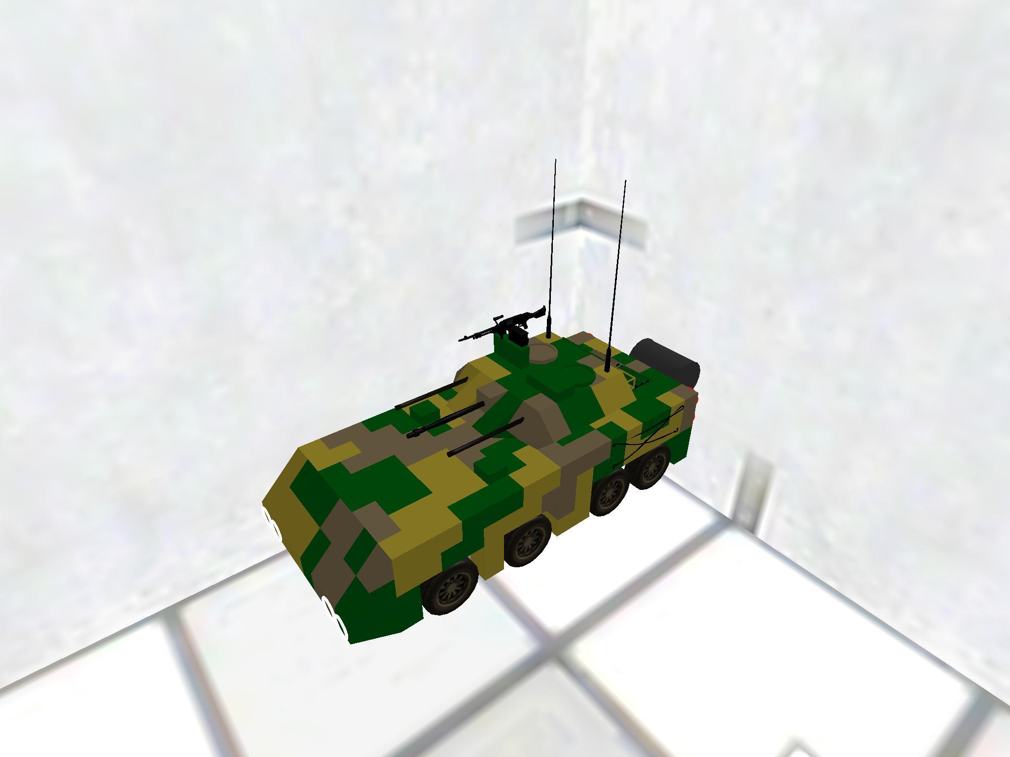 20式装輪装甲戦闘車両