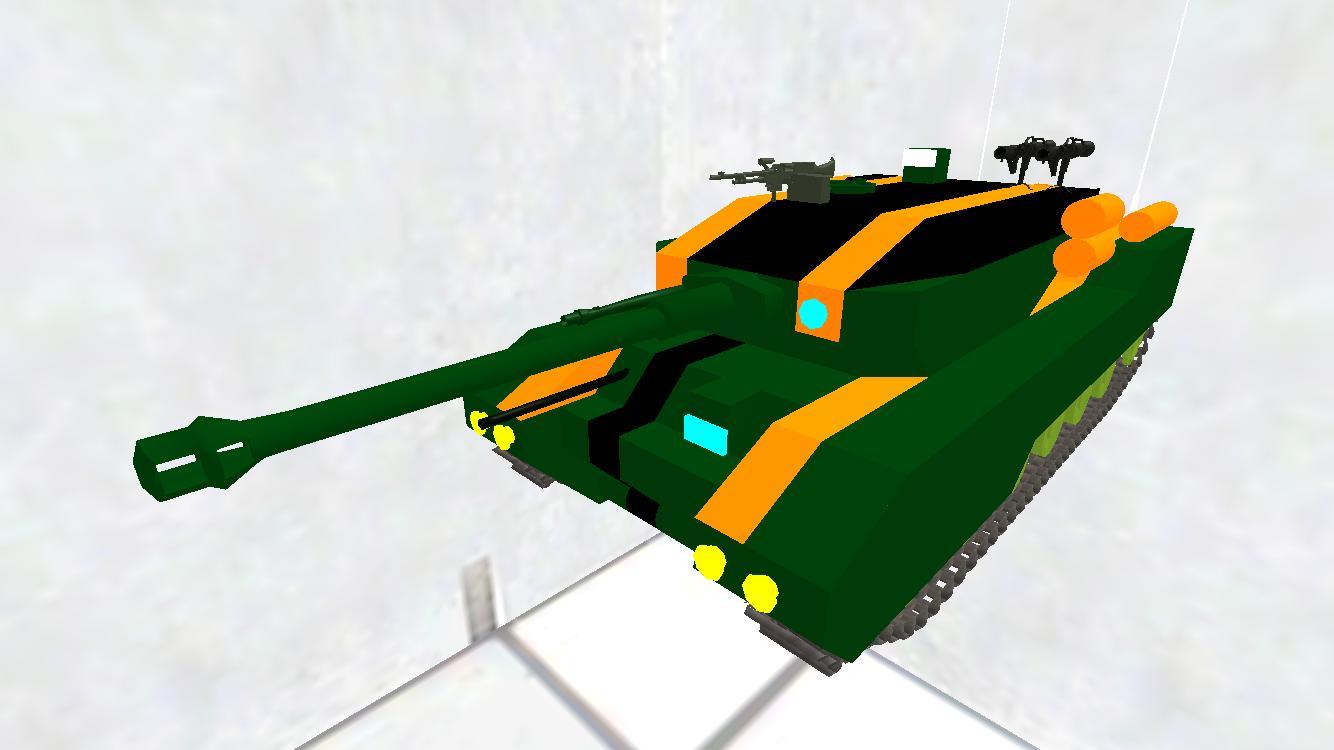 柚ネコ鉄道 01式 戦車