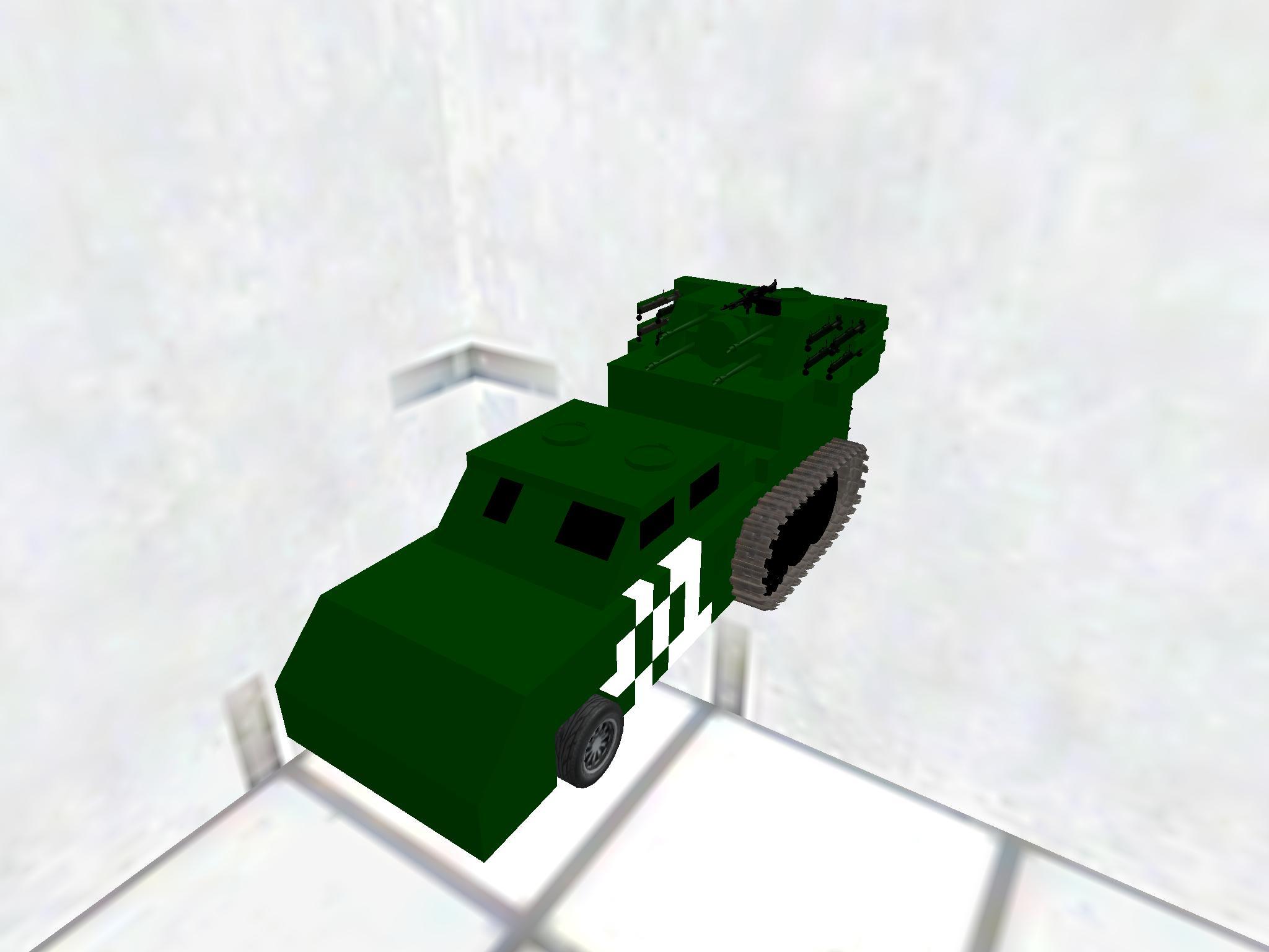 1号対空砲(初期車改造)
