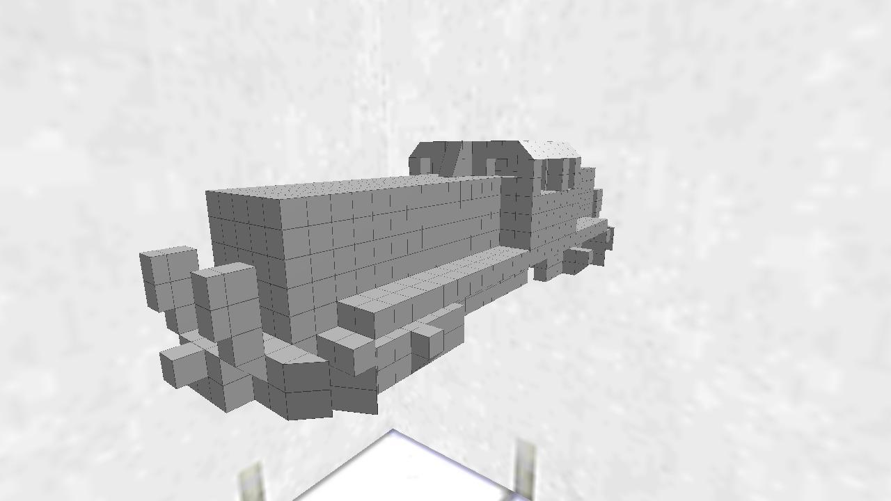 電気式 ディーゼル 機関車 無塗装版(再投稿)