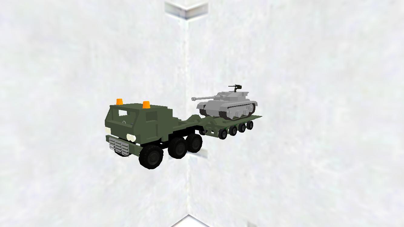 戦車輸送車