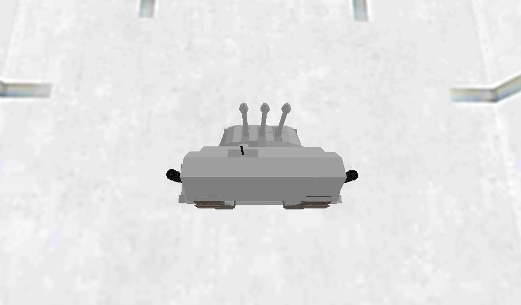 ultra heavy fortress tank