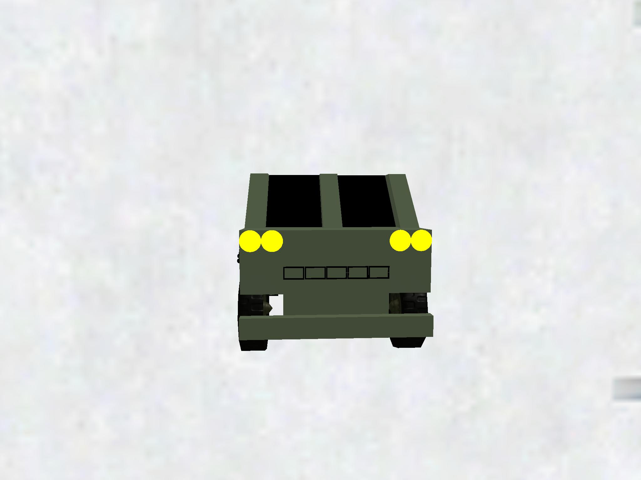 Armored garbage truck 5