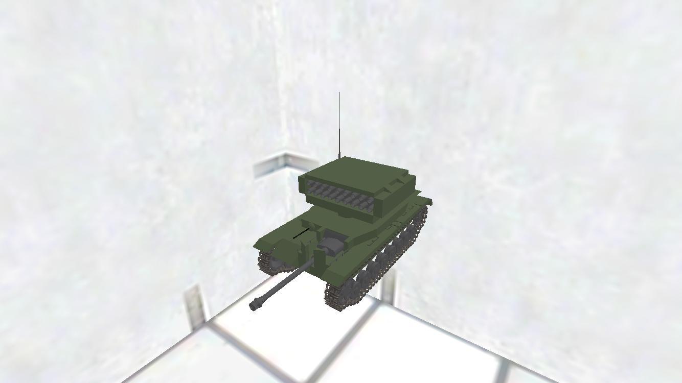 Pz.Kpfw.IV(rocket turret)魂