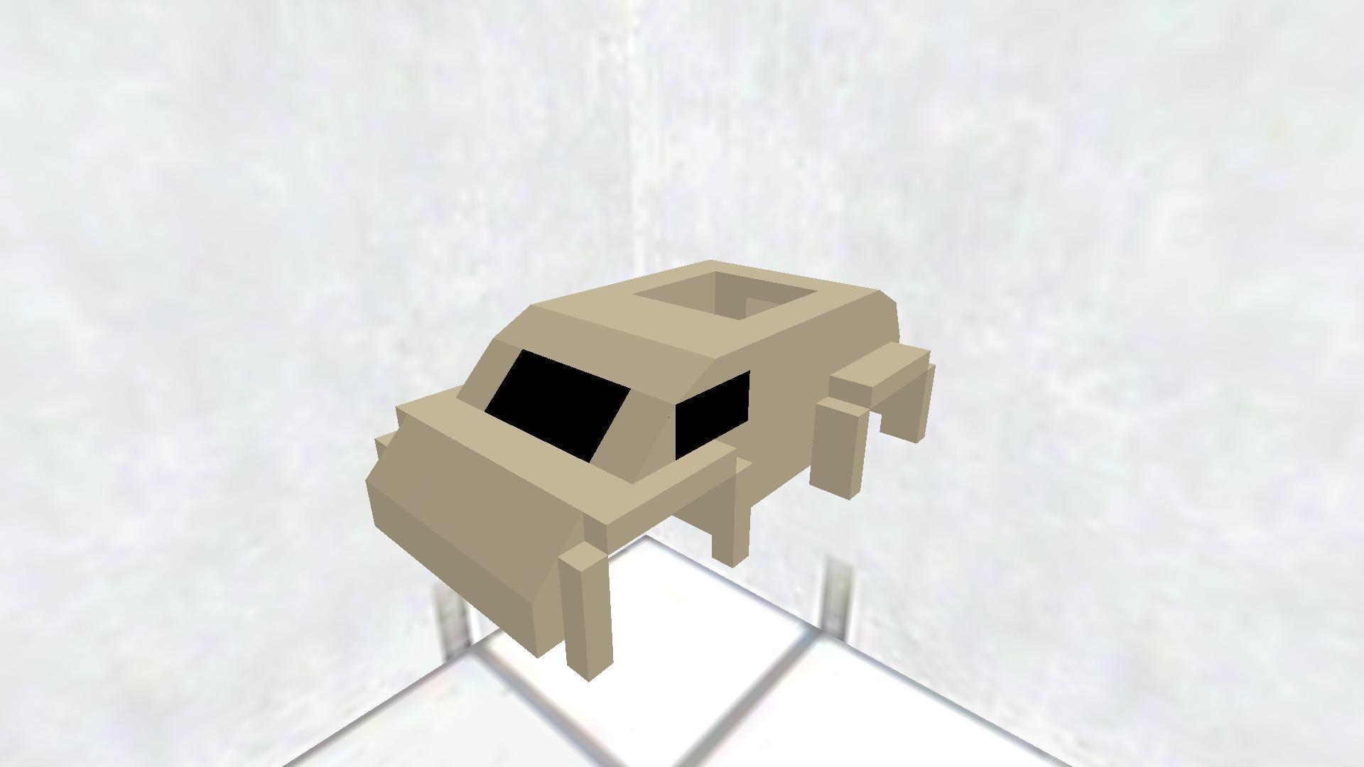Desert humvee frame
