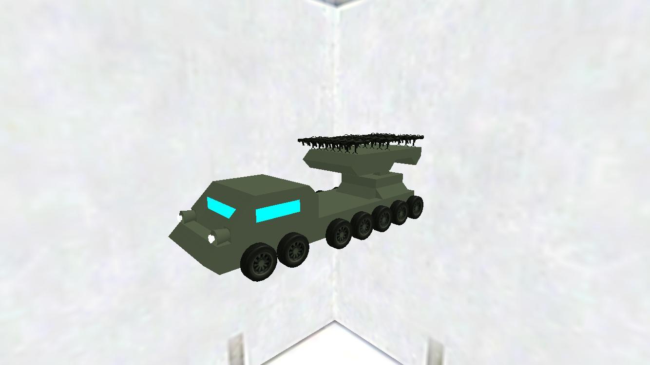 G1自走ロケット砲