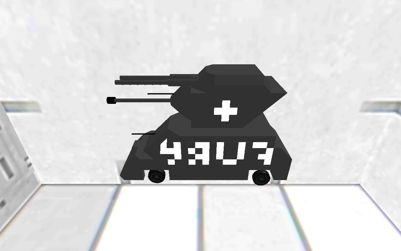 M4A3E8 FURY P100 RAT