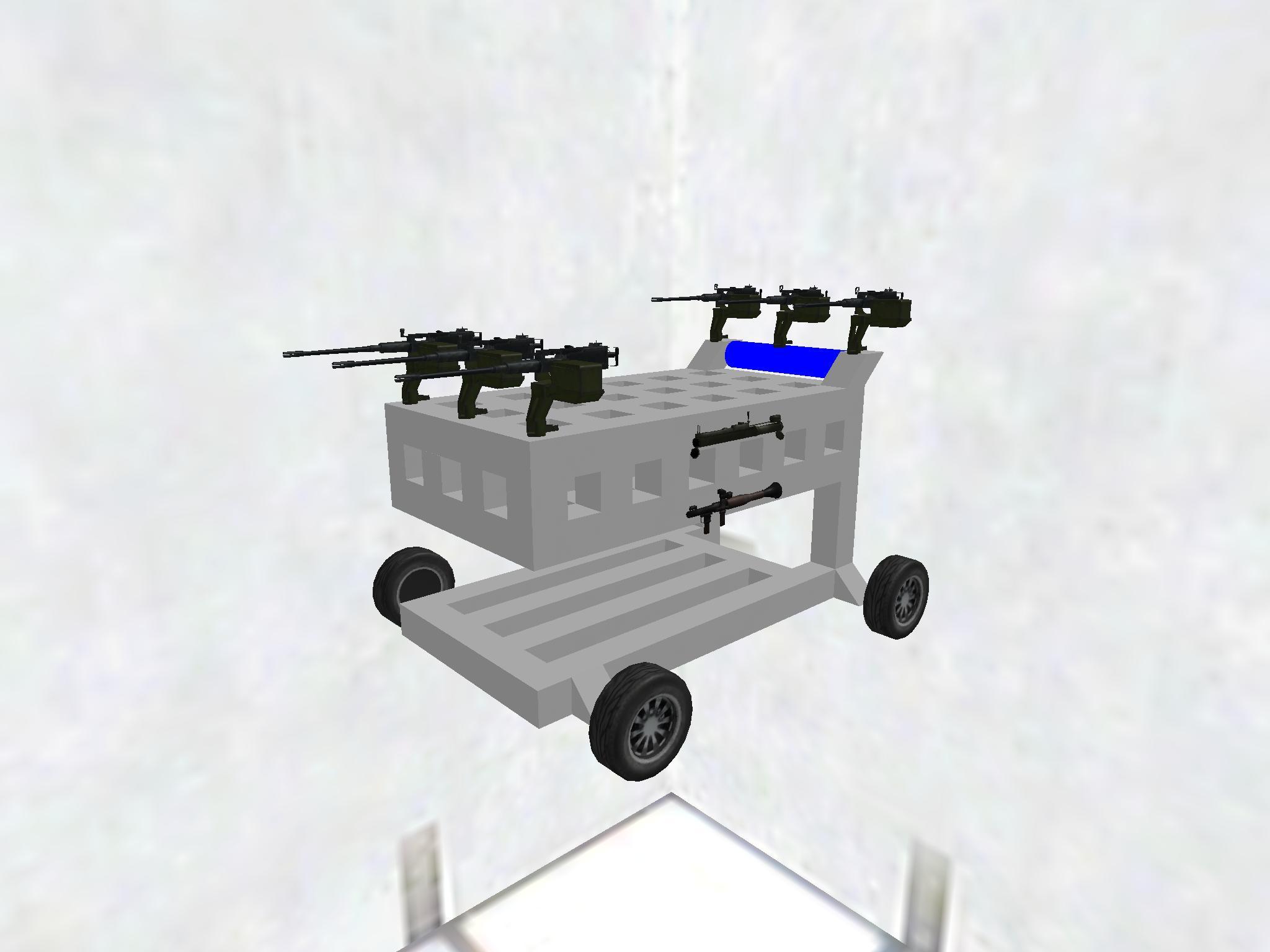 Armed Tesco Trolley