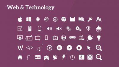 Web & Technology PowerPoint Icons