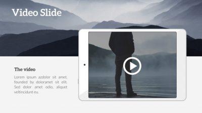 Video Displayed on iPad PowerPoint Slide