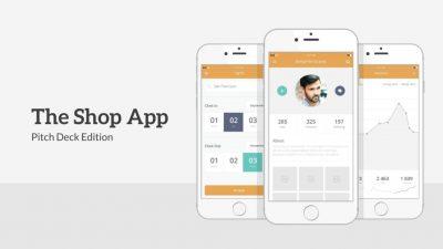 Mobile App PowerPoint Slide