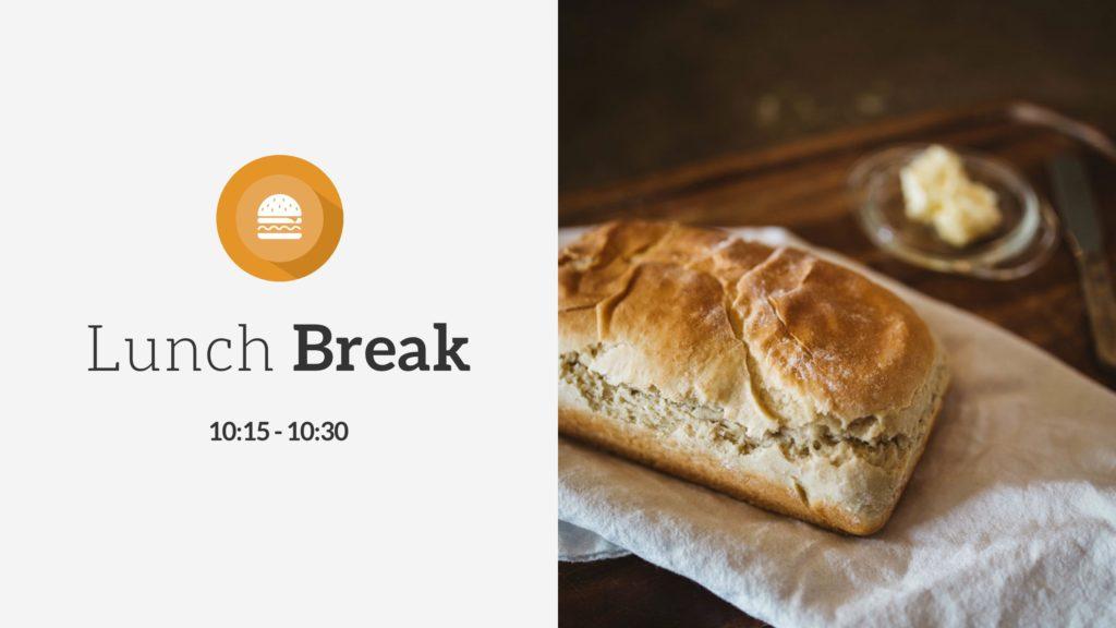 Lunch Break PowerPoint Slide
