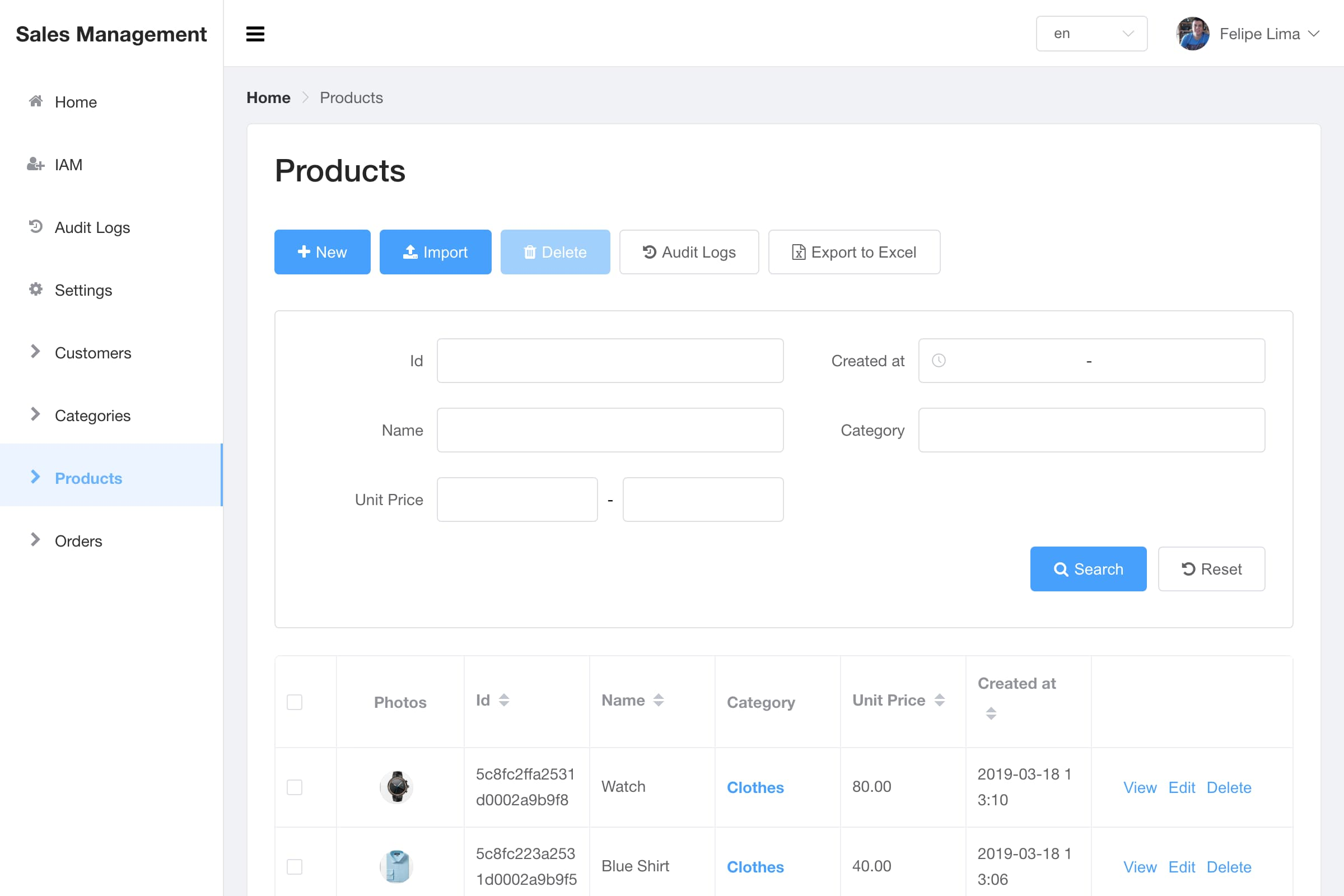 Listing and Filtering