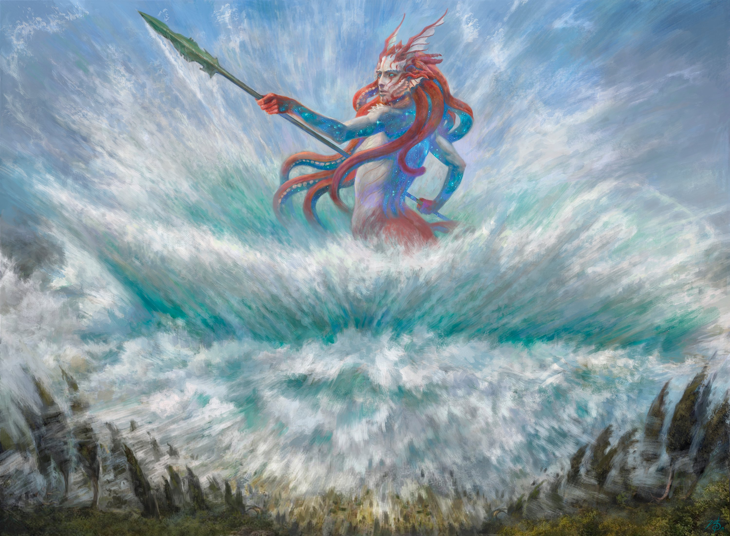 Everything I Know About Temur Reclamation In Theros Beyond Death Standard