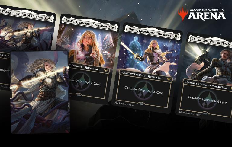 040 Guardian of Thraben Magic the Gathering. FOIL Thalia Secret Lair