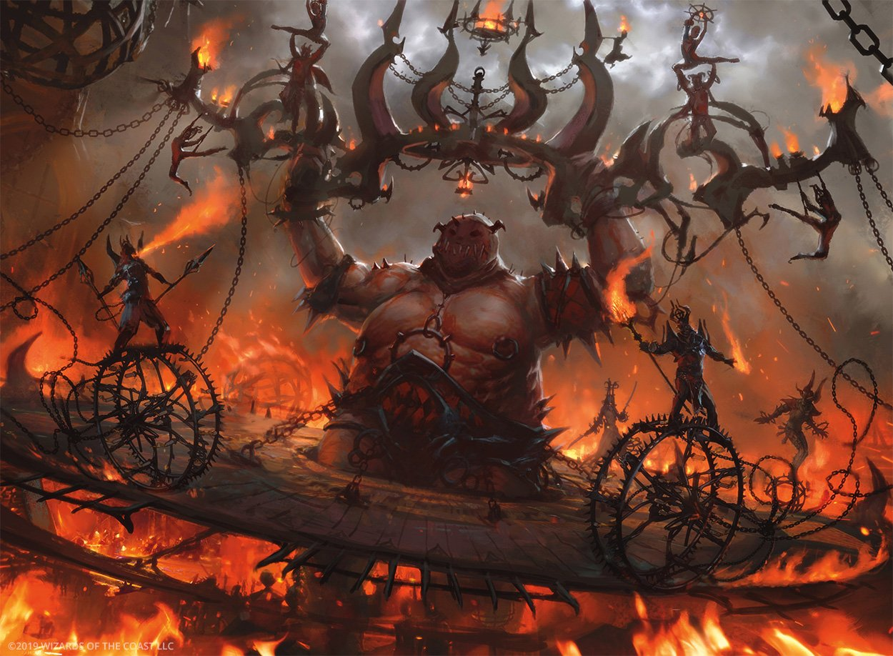 Explaining The Return Of Mono-Red Cavalcade To Theros Beyond Death Standard
