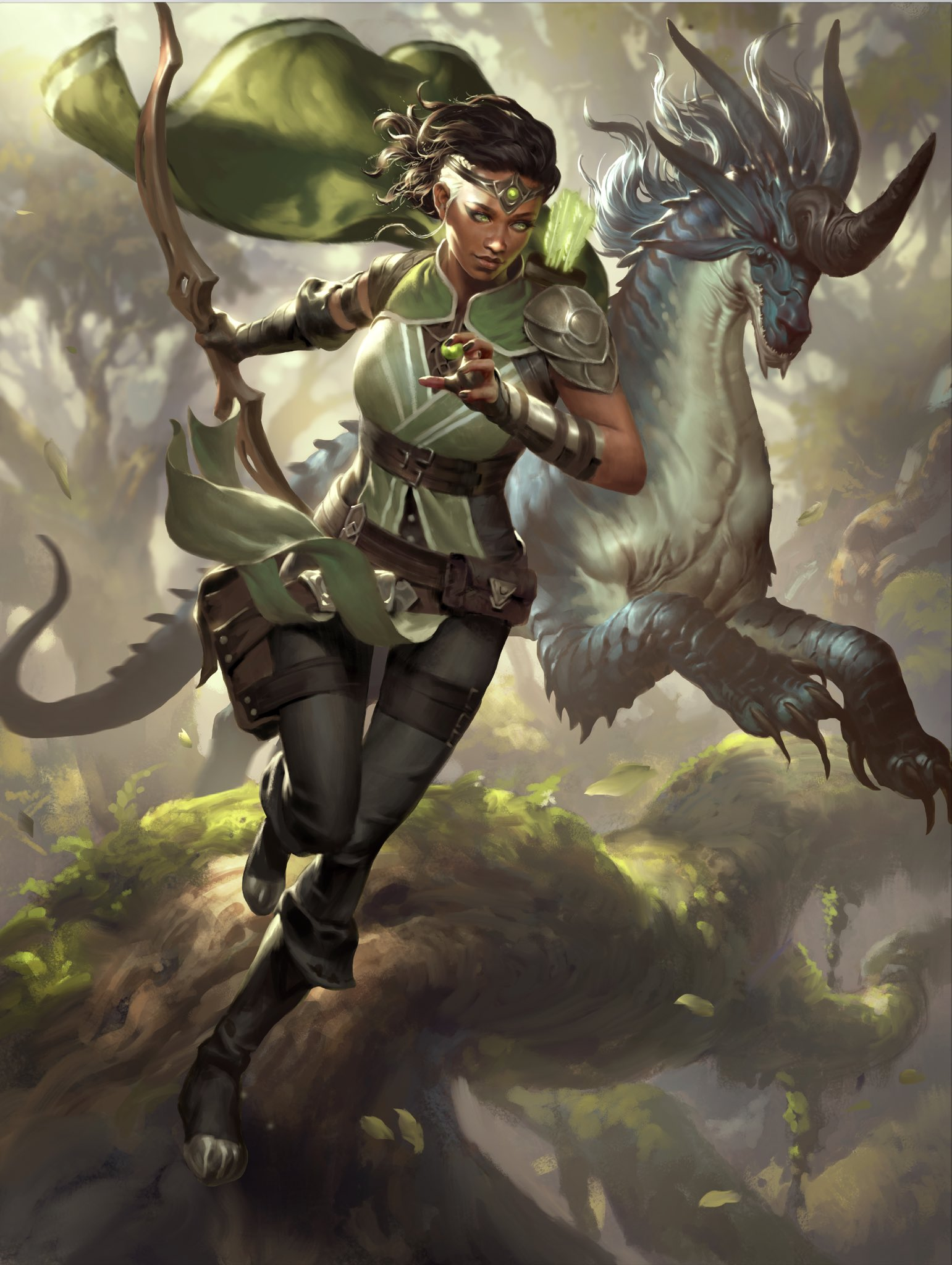 Why Vivien, Monsters' Advocate May Be Green's Best Five-Mana Planeswalker