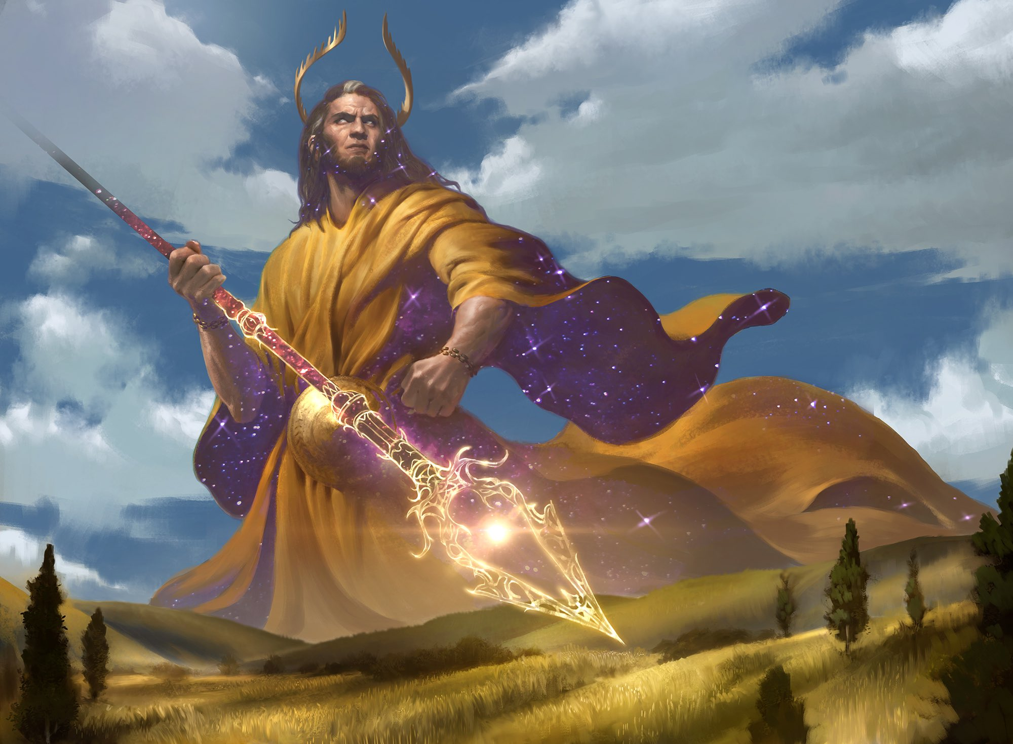 Is Modern Heliod, Sun-Crowned's World And We're Just Casting Spells In It?