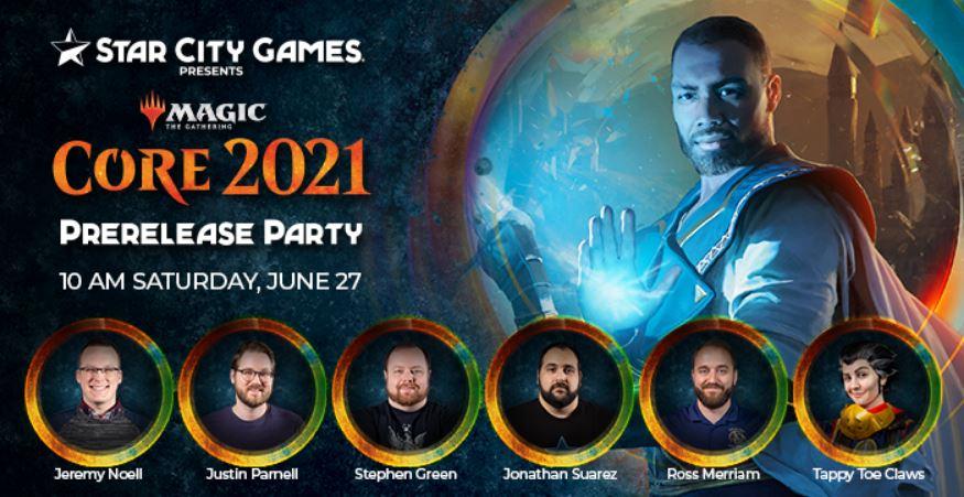 SCG To Host Core Set 2021 Prerelease Party