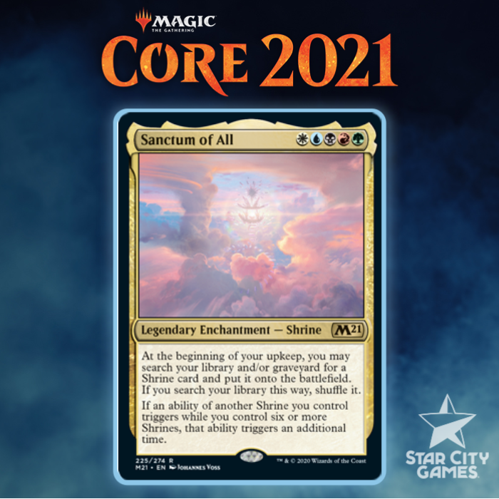 Evaluating The Shrines And Sanctum Of All For Core Set 2021 Draft